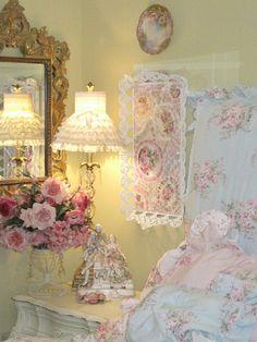 Pink White Bedroom