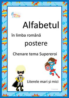 Brighten your classroom with these Superhero theme alphabet posters including all letters from A to Z. The posters are in Romanian language. Superhero Classroom Rules, Classroom Decor, Romanian Language, Alphabet Posters, Teacher Supplies, Class Decoration, Teacher Resources, Social Studies, English
