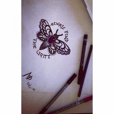 A cute tattoo idea I made