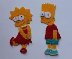 Etsy の Lisa Simpson Felt Decor/Ornament by Irishobbies