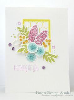 Ling's Design Studio: All Sweetness & Light - WPlus9 Fresh Cut Flowers