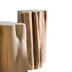 Gervasoni Brick Hocker | AmbienteDirect Deco Design, Knife Block, Designer, 3 D, Brick, Stool, Vase, Home Decor, Italian Chic