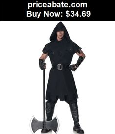 Men-Costumes: Executioner Costume Adult Halloween Fancy Dress - BUY IT NOW ONLY $34.69
