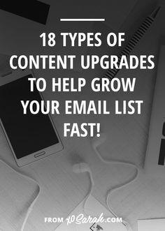 By now you probably know that content upgrades are one of THE BEST ways to grow your email list. Especially if you're starting from scratch! You can't beat giving your audience super valuable conte...