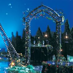 Lumiere De L'Amour Arch and Lampposts Kit-Prom Decorations
