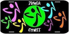 Zumba license plate ... i want one!!!