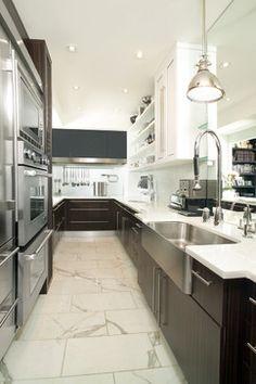 Galley Kitchen - contemporary - kitchen - toronto - Arnal Photography