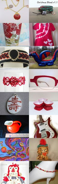 The Power of Red by JoAnne M Cagle on Etsy--Pinned with TreasuryPin.com#Etsyvintage #Estyhandmade #giftideas