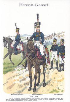 Band V #54.- Hessen-Kassel. Artillerie. 1813-1820.