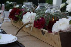 Floral troughs.