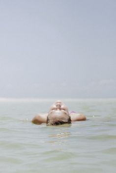 Relaxation in the water, float on the back | summer . Sommer . été | @ Theresa on flickr |
