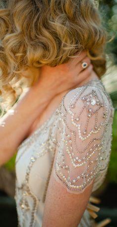 Jenny Packam Bridal Detail