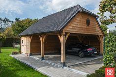 Carport Plans, Carport Garage, Barn Garage, Shed Design, House Design, Carport Designs, Cool Garages, Iron Windows, Country Barns