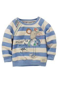 Next Sweatshirt in Blau