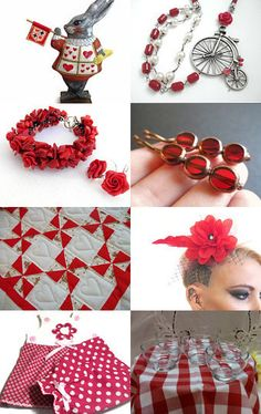 RED ZONE by Vickie Wade on Etsy--Pinned with TreasuryPin.com