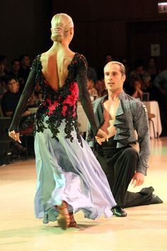 PASO DOBLE by Current World Professional Latin Champions, Yulia Zaguroychenko & Riccardo Cocchi @ WINDY CITY OPEN 2012 Photographed by Me (Karen G.)