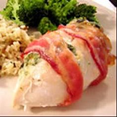 Stuffed and Wrapped Chicken Breast Allrecipes.com