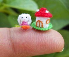 Su Ami Amigurumi : Animaux Miniatures en Crochet