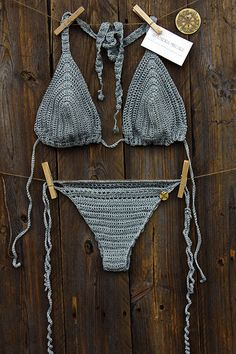 LAGOON CROCHET BIKINI by AlexandraMilcarz on Etsy