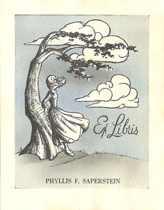 Bookplate for Phyllis F. Saperstein