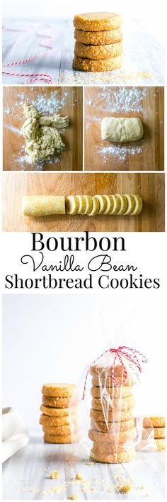 Bourbon and Vanilla shine in this buttery shortbread treat. Bourbon and Vanilla shine in this buttery shortbread treat. Easy to make and makes a fabulous gift! Cookie Desserts, Fun Desserts, Cookie Recipes, Dessert Recipes, Shortbread Recipes, Shortbread Cookies, Cookies Et Biscuits, Holiday Baking, Christmas Baking