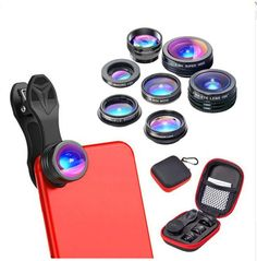 Cheap fish eye, Buy Quality macro lens directly from China zoom lens Suppliers: APEXEL 7 in 1 Phone Camera Lens Kit Fish Eye Wide Angle/macro Lens CPL Kaleidoscope and telephoto zoom Lens for Spy Camera, Camera Lens, Leica Camera, Nikon Dslr, Film Camera, Super Wide Lens, Iphone 7, Mobile Lens, Telephoto Zoom Lens