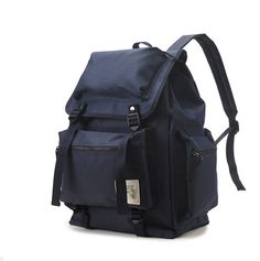 Etsy の Multipocket Casual Backpack Navy by BagDoRi