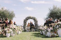 decorazioni corsia matrimonio civile a ravello, costiera Amalfitana