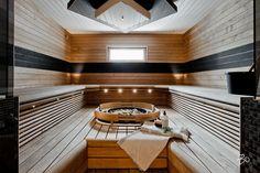 Finnish Sauna, Stairs, Saunas, Home Decor, Bathrooms, Steam Room, Stairway, Decoration Home, Room Decor