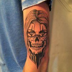 Skull Tattoos, Foot Tattoos, Life Tattoos, Body Art Tattoos, Sleeve Tattoos, Tattoo Sketches, Tattoo Drawings, Chicano Drawings, Katrina Mexicana