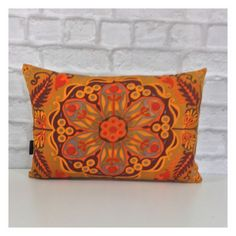 "Bolster Cushion Cover Vintage 70s Jonelle Marrakech Fabric Retro 12"" x 18"" in Home, Furniture & DIY, Home Decor, Cushions 