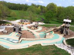 Whether you have kids or are a kid at heart, it's time to celebrate the lovely weather with a trip to the nearest playground. Although a slide and a few swings are enough to satisfy the majority of pl...