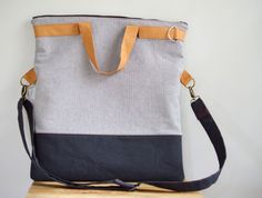 Field Study Tote with Melissa - Sewing Collective - Betz White