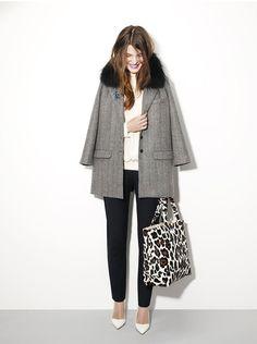 and a beautiful coat