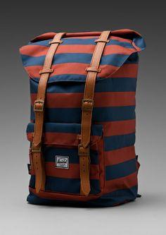 2c6ddbbc22e Herschel Supply Co. Blue Little America Backpack Herschel Bag