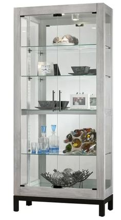 Shop a great selection of Howard Miller 680599 Quinn II. Find new offer and Similar products for Howard Miller 680599 Quinn II. Wine Glass Shelf, Glass Shelves, Do It Yourself Organization, Howard Miller, Metal Shelves, Wall Shelves, Cabinet Styles, Cabinet Colors, Cabinet Design