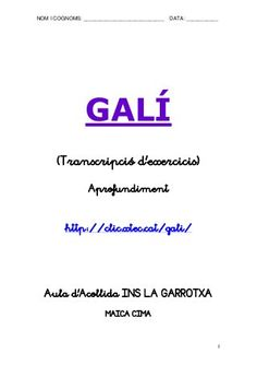 GALÍ APROFUNDIMENT Math, Classroom, Math Resources, Mathematics