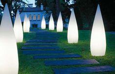 night garden-lighting - see other ideas