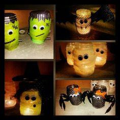 Mason jar Halloween crafts