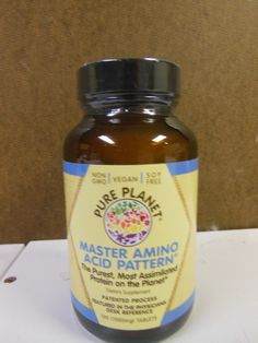Health And Fitness: Pure Planet Master Amino Acid Pattern 100 Tablets 1000Mg BUY IT NOW ONLY: $38.95