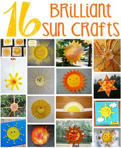 16 Sun Crafts for Kids