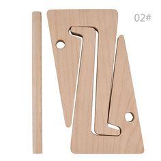 Wood Folding Desk Stand Holder Mount For iPad Tablet PC Laptop Notebook Macbook