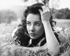 Elizabeth by Peter Basch whilst filming Giant, 1955