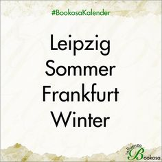Best of Bookosa - Buchmesse Kalender