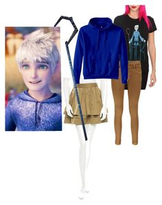 """Jack Frost"" by lizzie-little-unicorn on Polyvore featuring Opening Ceremony, Boohoo and Hanes"