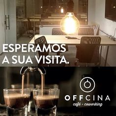 Venha conhecer e tomar um café no Offcina. Você vai gostar tanto, que já deixamos uma dica: traga seu material de trabalho, porque você não vai querer ir embora tão cedo.