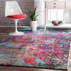 Shop for nuLOOM Contemporary Abstract Painting Multi Rug (4'1 x 6'). Get free shipping at Overstock.com - Your Online Home Decor Outlet Store! Get 5% in rewards with Club O!