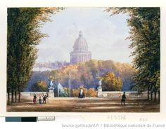 Jardin du Luxembourg  Gaspard Gobault, c. 1840