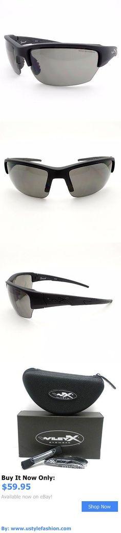 Unisex accessories: Wiley X Chsai08 Saint Matte Black Grey New Authentic Sunglasses BUY IT NOW ONLY: $59.95 #ustylefashionUnisexaccessories OR #ustylefashion