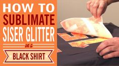 This is how we roll at the trade shows! In this video, Joe uses Siser white Glitter and applies a sublimation print on it to give it a crazy awesome look! If...